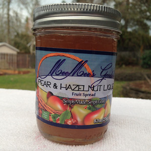 Pear Hazelnut Liquor Fruit Spread