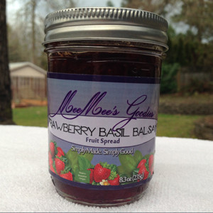 Strawberry Basil Balsamic Fruit Spread